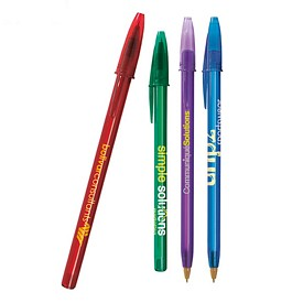 Promotional BIC Style Pen Clear