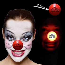 Promotional Red LED Clown Nose