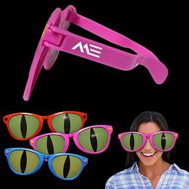 Promotional Jumbo Cat Eye Billboard Sunglasses