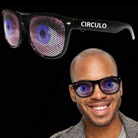 Promotional Big Blue Eye Billboard Sunglasses