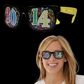 Promotional 2014 Neon Yellow Billboard Sunglasses