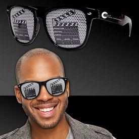Promotional Clapboard Billboard Sunglasses