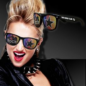 Promotional Rock Star Billboard Sunglasses