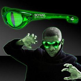Promotional Cat Eye LED Billboard Sunglasses