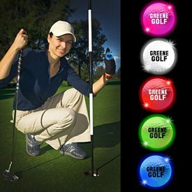 Promotional Night LED Lightup Golf Balls