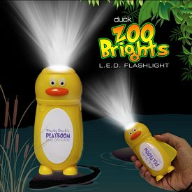 Promotional Duck Zoo Brights Flashlight