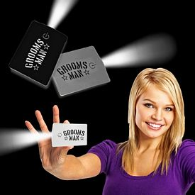 Promotional Credit Card LED Flashlight
