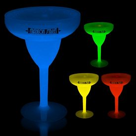 Promotional 10 oz Glow Margarita Glass