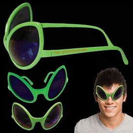 Promotional Alien Sunglasses