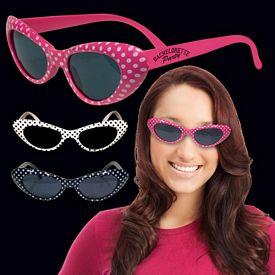 Promotional Polka Dot Funky Sunglasses