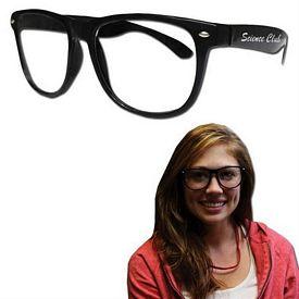 Promotional Black Frame 50's Glasses
