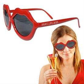 Promotional Red Lip Sunglasses