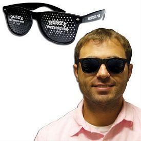Promotional Black Billboard Glasses