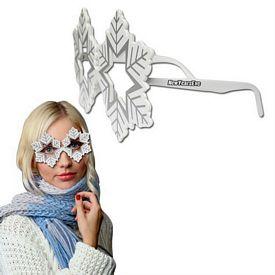 Promotional Snowflake Eyeglasses