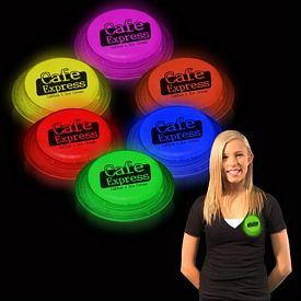 Promotional Glow Shape Badges