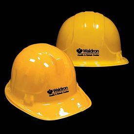 Promotional Plastic Yellow Construction Hat