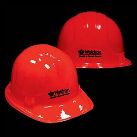 Promotional Plastic Red Construction Hat