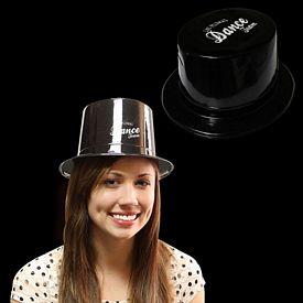 Promotional Black Plastic Top Hat