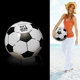 """Promotional 16"""" Inflatable Soccer Ball"""