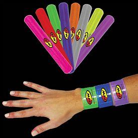 Promotional 8-3/4'' Slap Bracelets