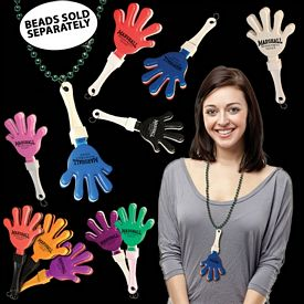 "Promotional 7"" J-Hook Hand Clappers"