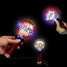 Promotional Light-Up Spinner Wand