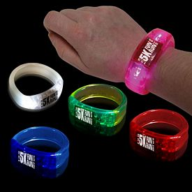 Promotional 8'' Lighted Bangle Bracelet