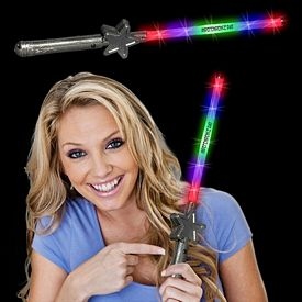 Promotional 15-1/2'' LED Star Wand