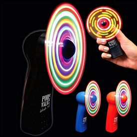 Promotional Light-Up Hand Held Fan