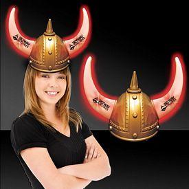 Promotional Light-Up Viking Helmet