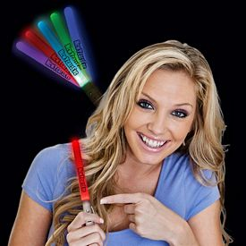 Promotional 7-1/2'' Light-Up Electronic Glow Stick