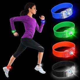 Promotional Flashing LED Silicone Wristband
