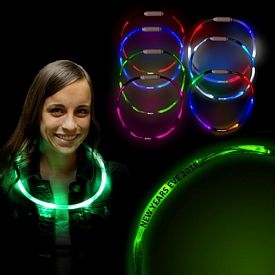 Promotional 27'' LED Light-Up Necklaces
