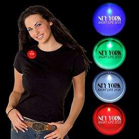 Promotional 2'' Lighted Badges