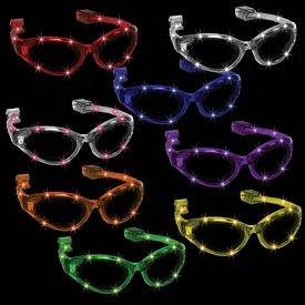 Promotional Light-Up LED Flashing Sunglasses