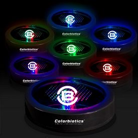 Promotional Multi-Colored Light-Up Drink Coaster