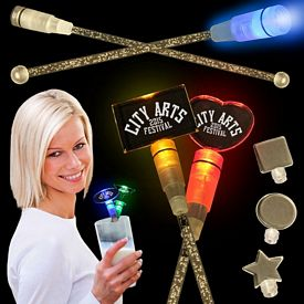 Promotional 8'' Light-Up Cocktail Stirrers