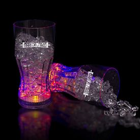 Promotional 12 oz Light-Up Drink Glass