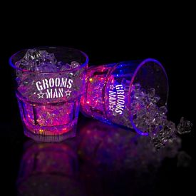 Promotional 8 oz Light-Up Rocks Glass