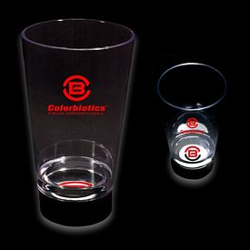 Promotional 16 oz Bottom Lit Illuminated Logo Cup