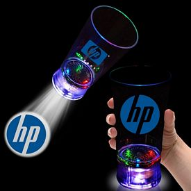 Promotional 16 oz LED Chasing Light Projecto Cups