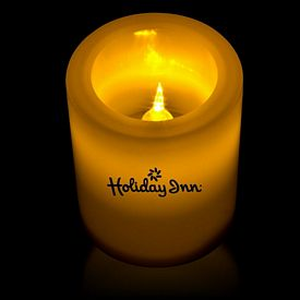 Promotional 2-1/2'' Light-Up LED Votive Candle