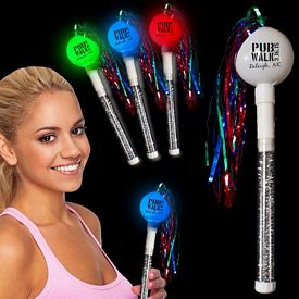 Promotional 10'' Light-Up Cha-Cha Maraca