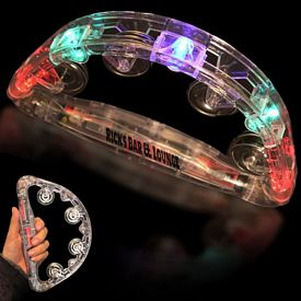 Promotional 9'' Lite Up Tambourine