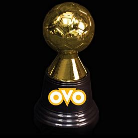 Promotional 4-3/4'' Plastic Soccer Trophy