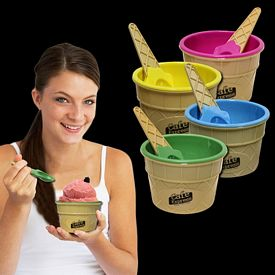 Promotional Ice Cream Bowl Spoon Set