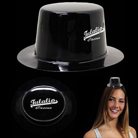 Promotional Mini Black Plastic Top Hat