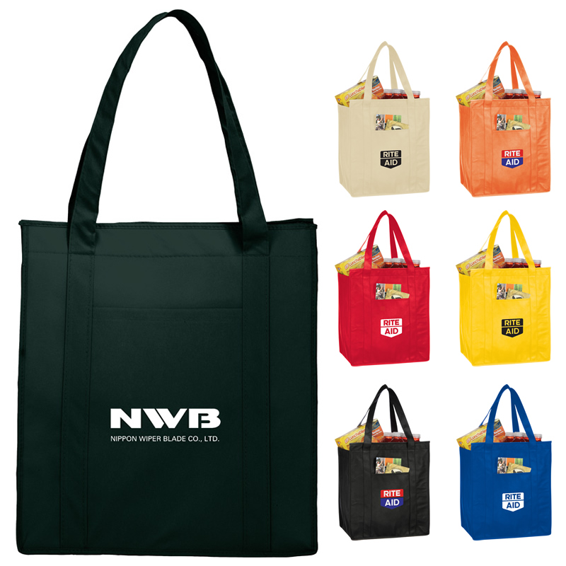 45d1adb7b Promotional NonWoven Insulated Hercules Grocery Tote Bag ...