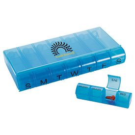 Promotional 28-Compartment Pill Organizer