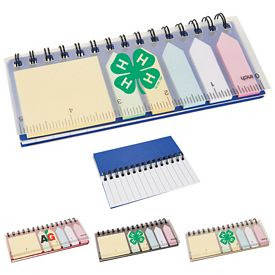 Promotional Spiral Sticky Memo Set